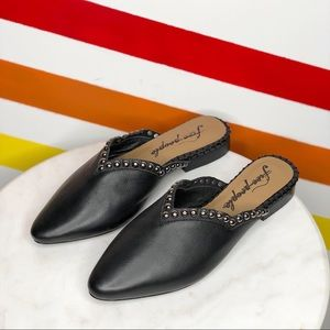 NEW Free People studded mules Sz 36